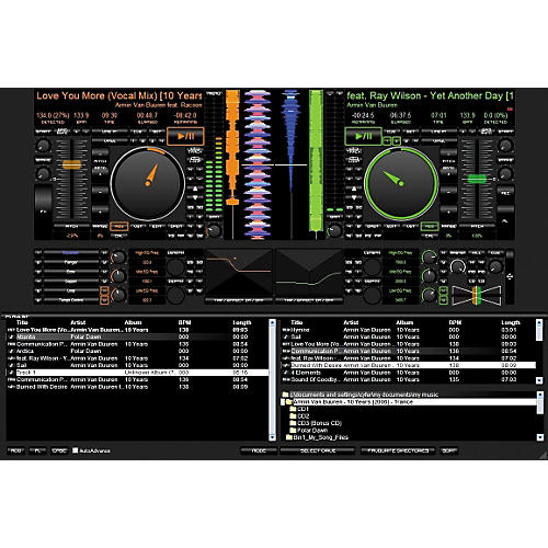 PCDJ DEX Computer DJ Mixing Software