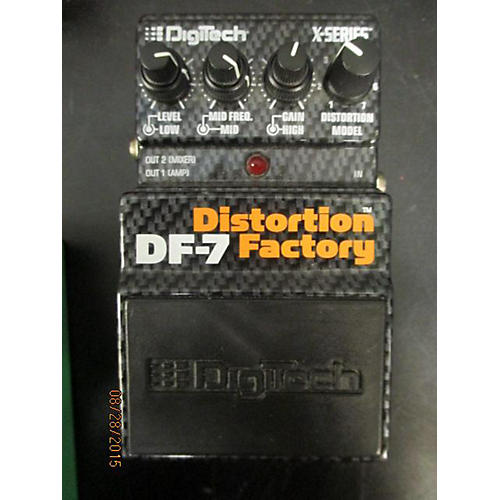 Digitech DF-7 Distortion Factory BLACK & ORANGE