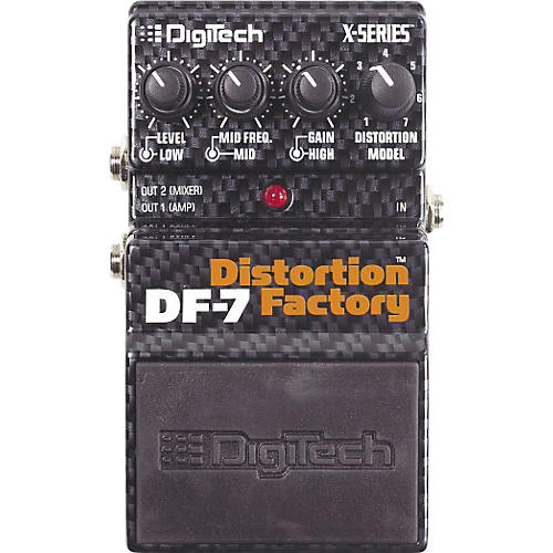 Digitech DF-7 Distortion Factory Modeling Pedal
