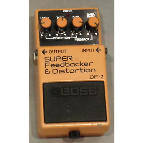 Boss DF2 Super Feedbacker And Distortion Effect Pedal