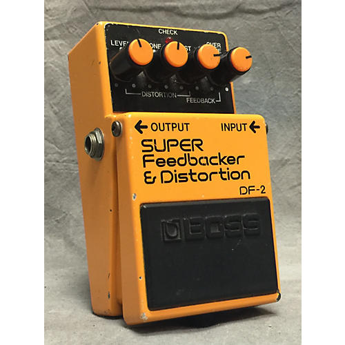 Boss DF2 Super Feedbacker And Distortion Effect Pedal-thumbnail