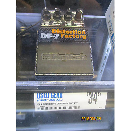 Digitech DF7 Distortion Factory Effect Pedal