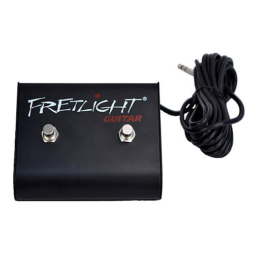 Fretlight DFS001 Dual Footswitch - Hands-free functionality for