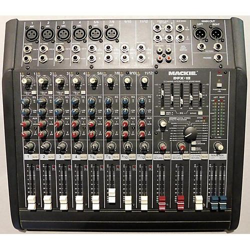 Mackie DFX12 12CH Unpowered Mixer