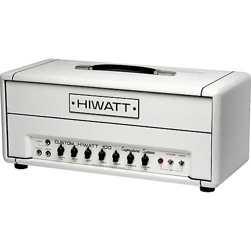 Hiwatt DG-103 Custom 100 David Gilmour Signature Tube Guitar Amp Head-thumbnail