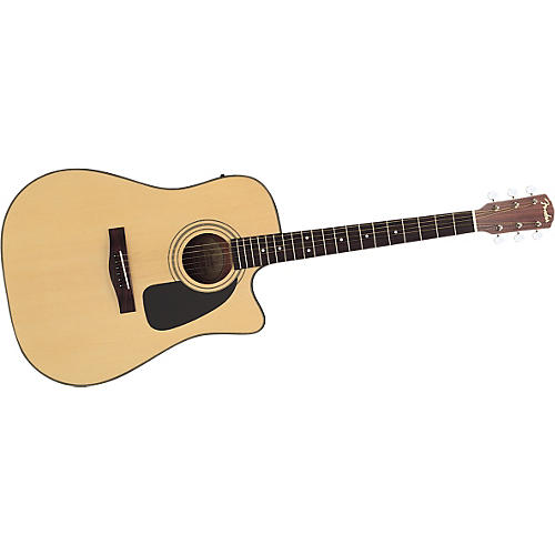 Fender DG-10CE Acoustic-Electric Cutaway Guitar