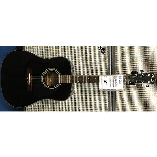 Fender DG-11 DREAD ACOUSTIC Black Acoustic Guitar
