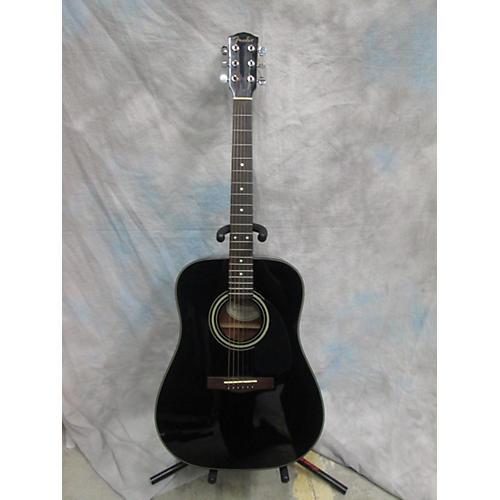 Fender DG-11E Black Acoustic Electric Guitar