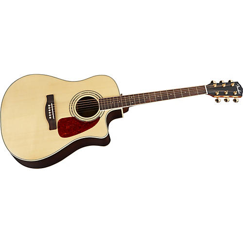 Fender DG-200SCE Acoustic-Electric Guitar with Rosewood Back and Sides