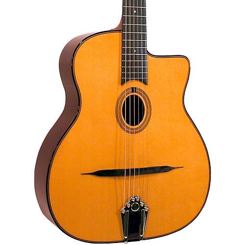 Gitane DG-250 Petite Bouche Gypsy Jazz Acoustic Guitar-thumbnail