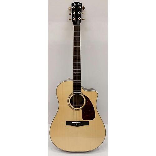 used fender dg200sce acoustic electric guitar natural guitar center. Black Bedroom Furniture Sets. Home Design Ideas