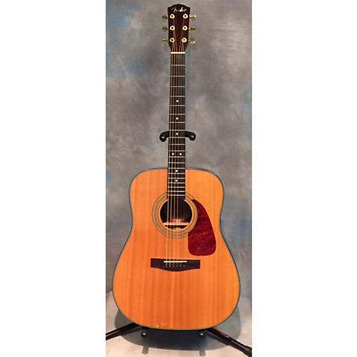 Fender DG22S Ebony Nat Acoustic Guitar