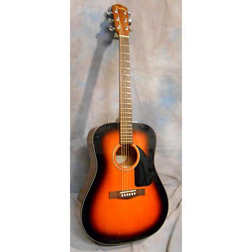 Fender DG60 2 Tone Sunburst Acoustic Guitar