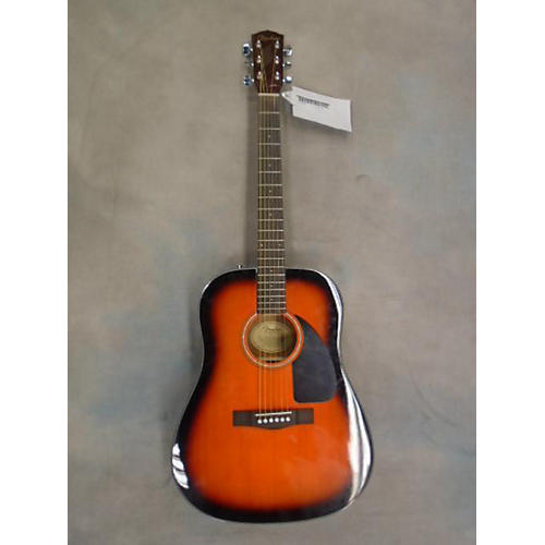 Fender DG60 3 Color Sunburst Acoustic Guitar
