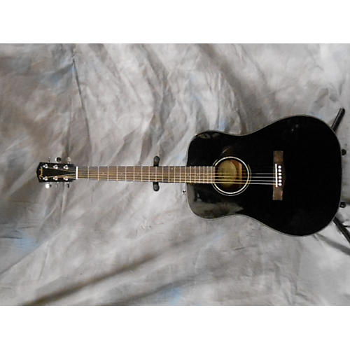 Fender DG60 Black Acoustic Guitar
