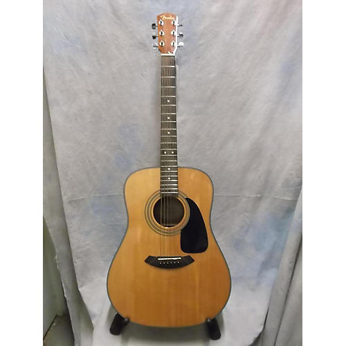 Fender DG8S Natural Acoustic Guitar-thumbnail