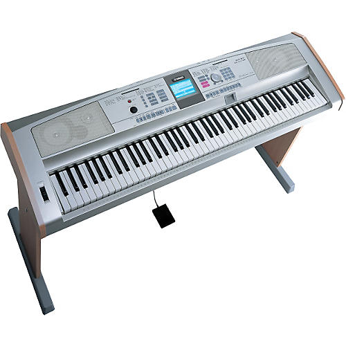 Yamaha DGX-505 88-Key Portable Grand Digital Keyboard and Wood Grain Stand