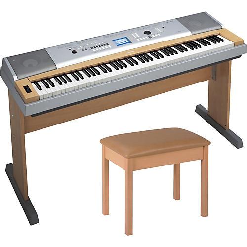 Yamaha DGX-630B 88-Key Digital Piano with Bench
