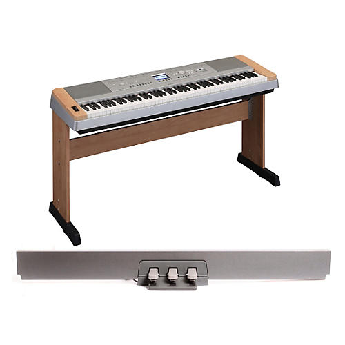 Yamaha DGX-640 88-Key Digital Piano Cherry with LP-7 Pedal Unit-thumbnail