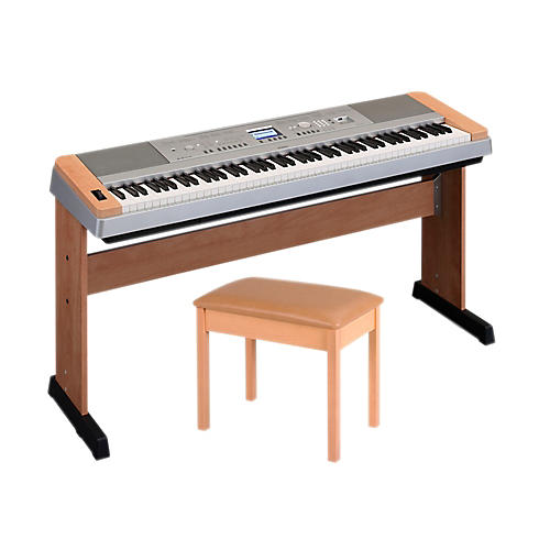 Yamaha DGX-640 88-Key Digital Piano with WB2 Padded Bench