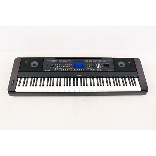 Yamaha DGX-650 88-Key Graded Hammer Action Digital Piano Black 888365364933