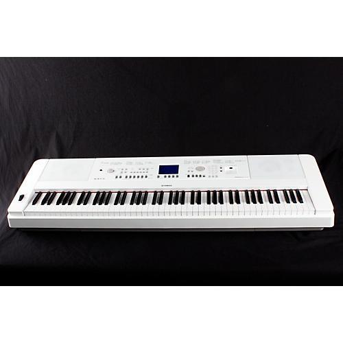 Yamaha DGX-650 88-Key Graded Hammer Action Digital Piano White 888365132532