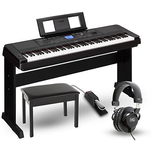 Yamaha DGX-660 88-Key Portable Grand Piano Package