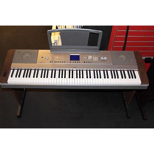 used yamaha dgx640 88 key digital piano guitar center. Black Bedroom Furniture Sets. Home Design Ideas