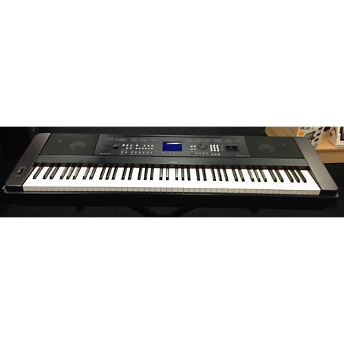 Used yamaha dgx650 88 key portable keyboard guitar center for Yamaha 88 keyboard