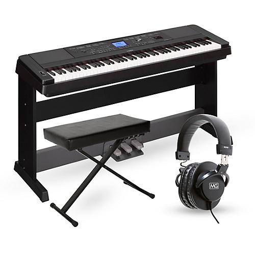yamaha dgx660 88 key portable grand piano packages. Black Bedroom Furniture Sets. Home Design Ideas