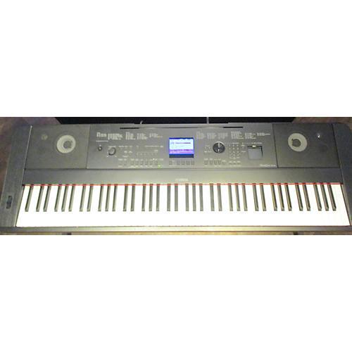 used yamaha dgx660b digital piano guitar center. Black Bedroom Furniture Sets. Home Design Ideas