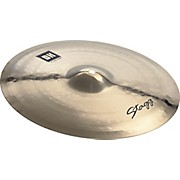Stagg DH Dual-Hammered Brilliant Rock Crash Cymbal