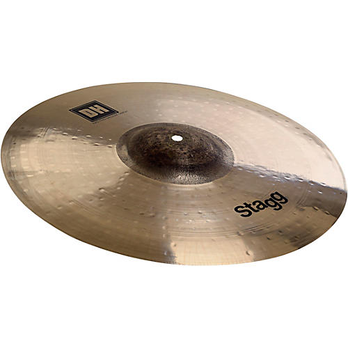 Stagg DH Dual-Hammered Exo Medium Thin Crash Cymbal 17 in.-thumbnail