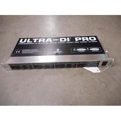 Behringer DI4000 Direct Box