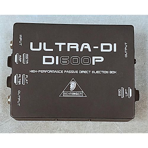 Behringer DI600P Passive Direct Box