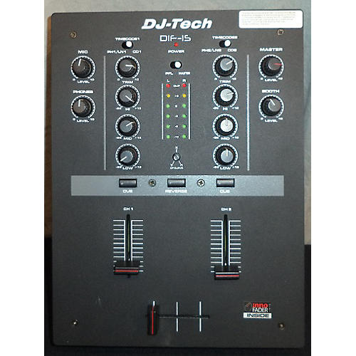 DJ TECH DIF-1S V2 DJ Mixer