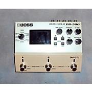 Boss DIGITAL DELAY DD 500 Effect Pedal