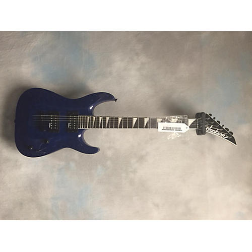 In Store Used DINKY Blue Solid Body Electric Guitar-thumbnail