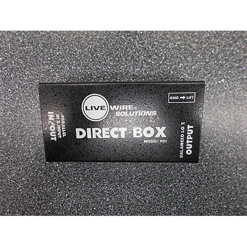 Live Wire Solutions DIRECT BOX Direct Box-thumbnail
