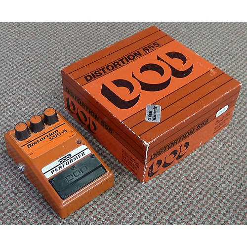 DOD DISTORTION 555 Effect Pedal
