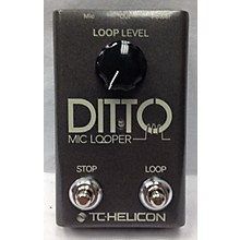 TC Helicon DITTO MIC LOOPER Vocal Processor