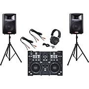 Hercules DJ DJ 4Set / Harbinger APS12 DJ Package