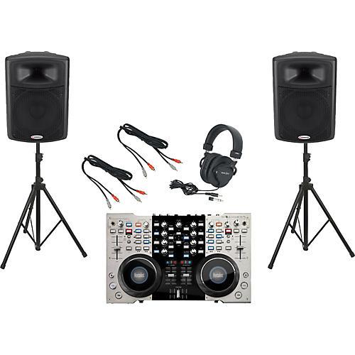Hercules DJ 4Set / Harbinger APS15 DJ Package
