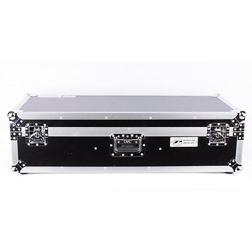 Eurolite DJ CD Coffin Case with Laptop Shelf and Folding Table Legs 12 in. 886830834035