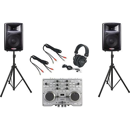 Hercules DJ Console MK4 / Harbinger APS12 DJ Package