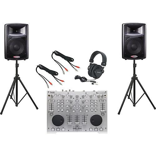 Hercules DJ DJ Console RMX / Harbinger APS12 DJ Package
