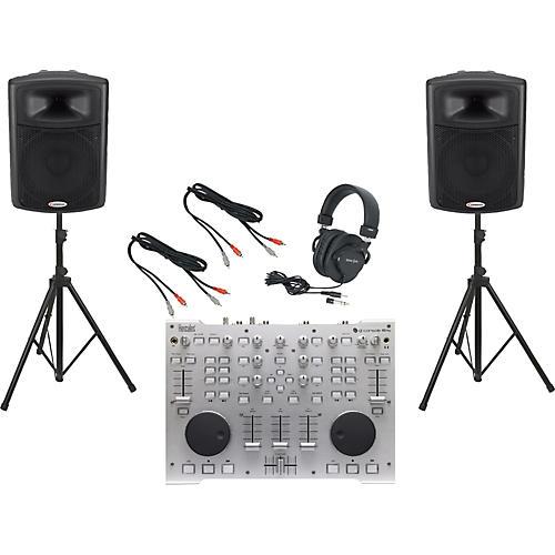 Hercules DJ DJ Console RMX / Harbinger APS15 DJ Package-thumbnail