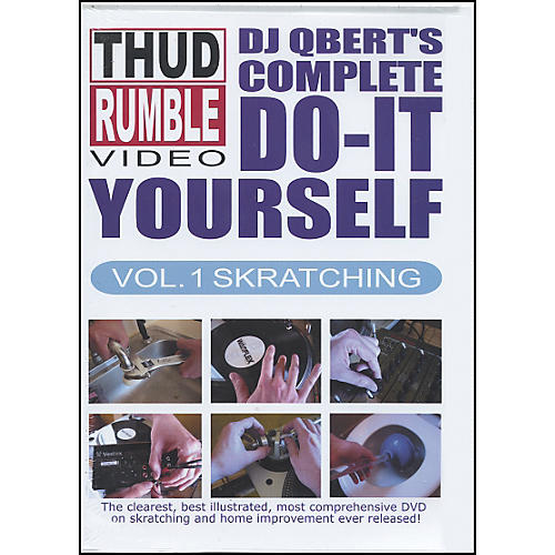 Thud Rumble DJ QBert's Complete Do-It-Yourself Skratching DVD Vol. 1-thumbnail