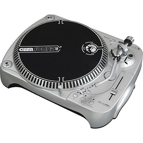 Gem Sound DJ-USB II Belt-Drive USB Turntable-thumbnail