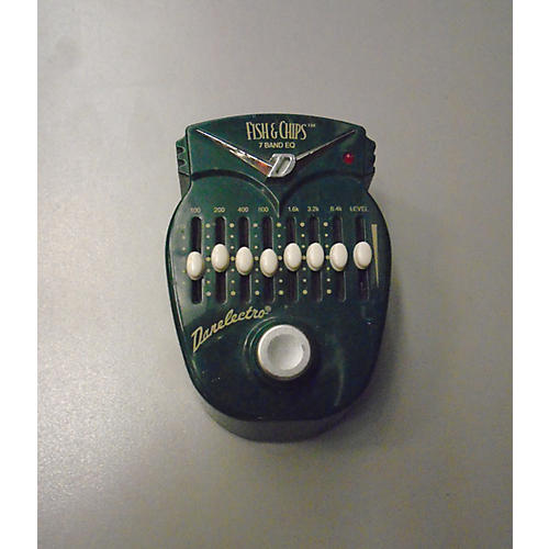 Danelectro DJ14 Fish And Chips 7-Band EQ Pedal-thumbnail